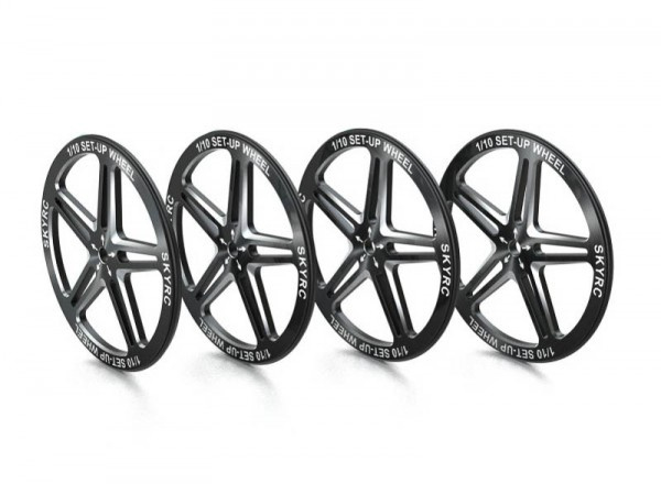 SkyRC Setup Wheel Black (SK600069-06)