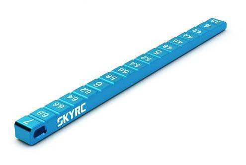 SkyRC Ride Height Gauge 3.8mm Blue (SK600069-20)