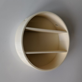 Round wall cabinet