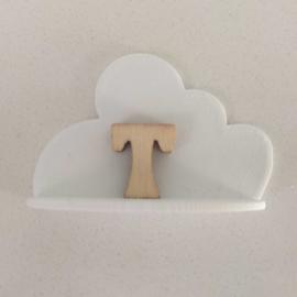 Cloud-shaped shelf
