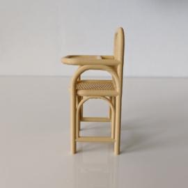Kinderstoel rotan