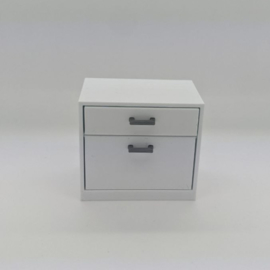 Narrow cabinet with drawers