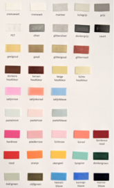 Colour chart (with an order)