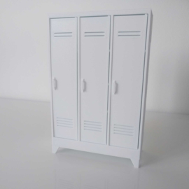 Locker 3-door
