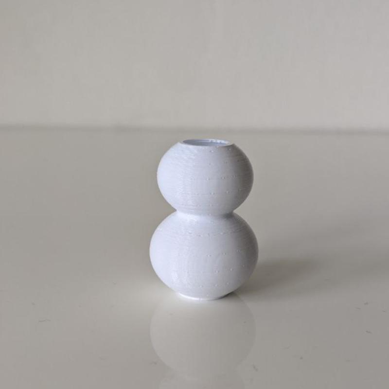 Vaas (twee bollen)