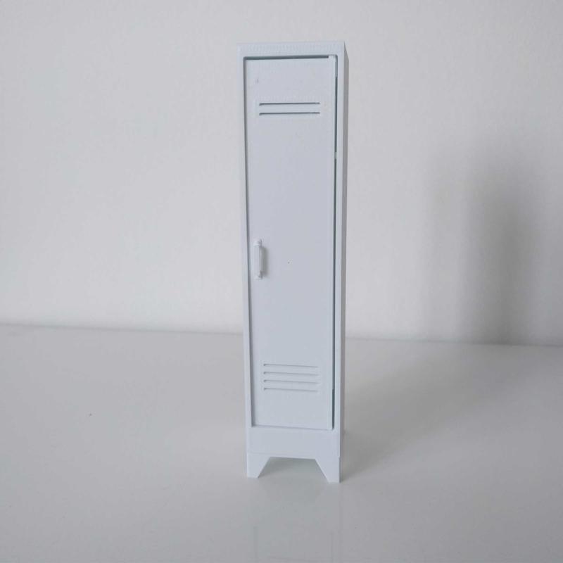 Locker 1-deur