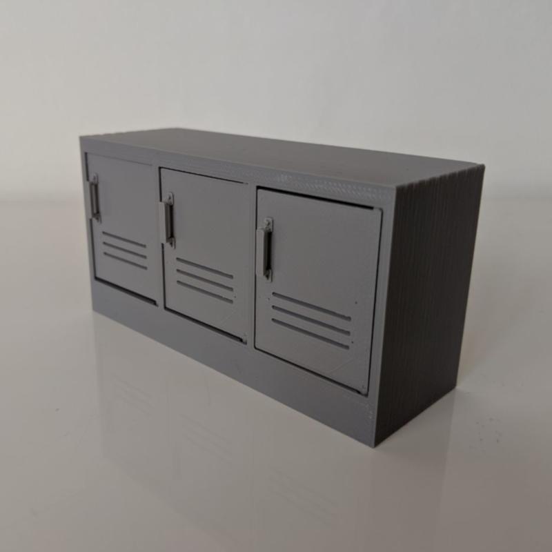 Dresser locker