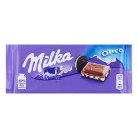 Milka chocolade reep Oreo, 100 gr.