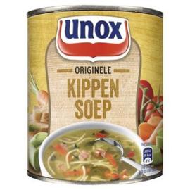 Unox Kippensoep, blik 800 ml.