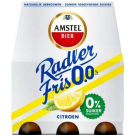 Amstel Radler fris 0,0%, 6 x 30 cl.