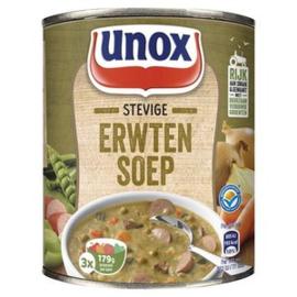 Unox Stevige Erwtensoep, blik 800 ml.