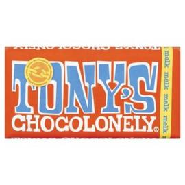Tony's Chocolonely Melk, 180 gr.