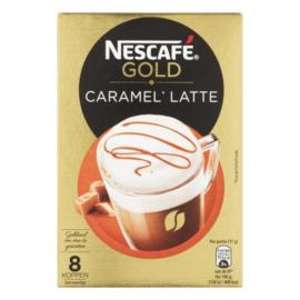 Nescafé Gold caramel latte, 8 stuks