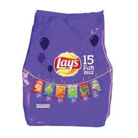 Lay's Funmix, 15 zakjes van 25 gr.