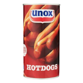 Unox Blik hot­dogs, blik 550 gr.
