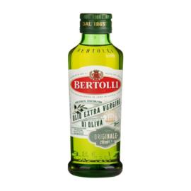 Bertolli Extra Virgin olijfolie, fles 250 ml.