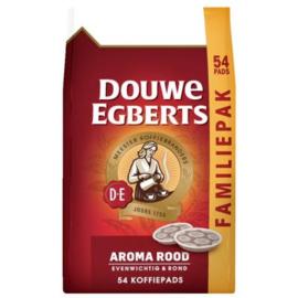 Douwe Egberts Aroma rood koffiepads, 54 stuks