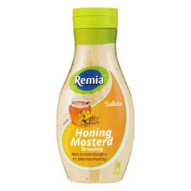 Remia Dressing mosterd honing fles 500 ml.