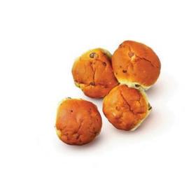 Zachte krentenbollen, 5 stuks