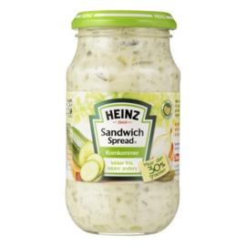 Heinz Sandwich Spread Komkommer, 300 gr.