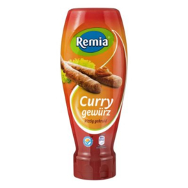 Remia Curry gewürz topdown, fles 500 ml.