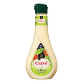 Calve Halfvolle slasaus, fles 450 ml.