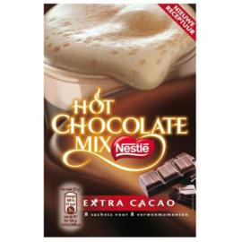 Nestlé Hot Chocolate mix extra cacao, 8 stuks