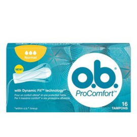 O.B. Pro-Comfort Tampons Normal, 16 st.
