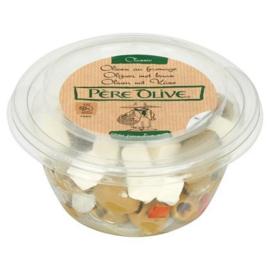 Pere Olive, Olijven mix met Feta kaas, 150 gr.