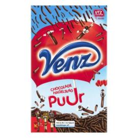 Venz chocolade hagelslag puur, 400 gr.