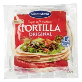 Santa Maria Soft tortillas 8 st. 320 gr.