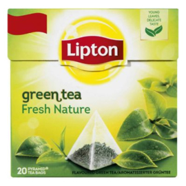 Lip­ton Green tea fresh na­tu­r, 20 stuks