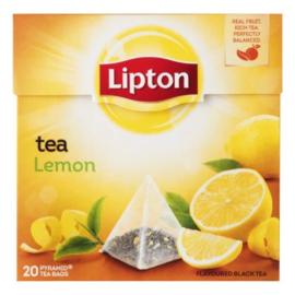 Lipton Black tea lemon, 20 stuks