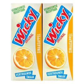 Wicky Sinaasappel, 10 x 200 ml