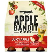 Apple Bandit Juicy apple, 6 x 30 cl.