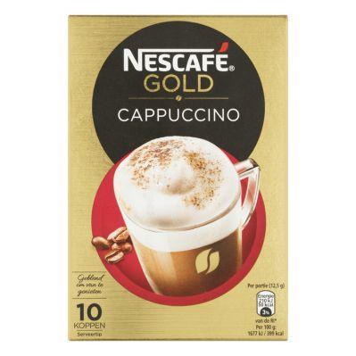 Nescafe Cappuccino, 10 stuks