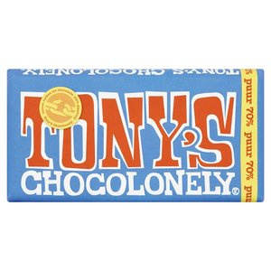 Tony's Chocolonely Puur, 180 gr.