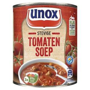 Unox Stevige Tomatensoep, blik 800 ml.