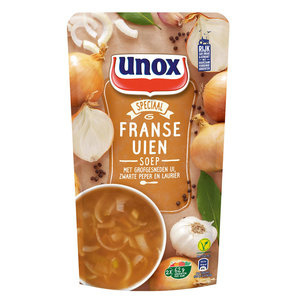 Unox Franse Uiensoep, sta zak 570 ml.