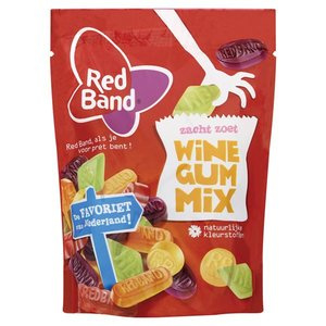 Red Band, Wine gums, 255 gr.