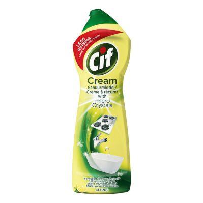 Cif Schuurmiddel citroen cream, 750 ml.