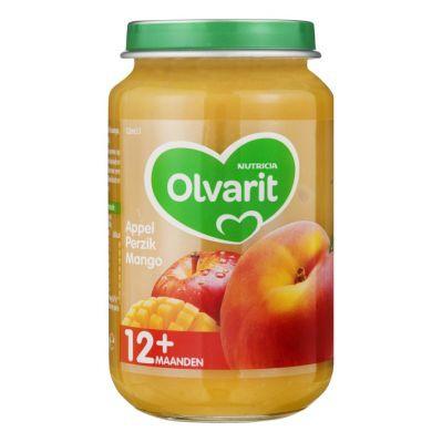 Olvarit Appel perzik mango 12+ mnd, pot 200 gr.