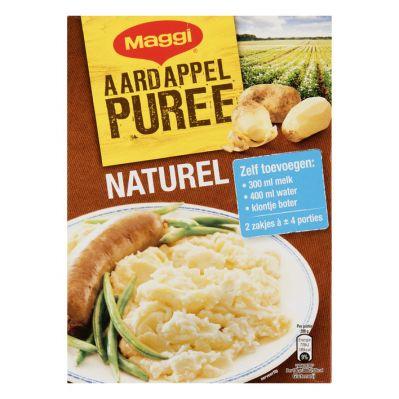 Maggi Aardappelpuree naturel, 2 x 138 gr.
