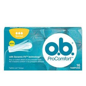 O.B. Pro-Comfort Tampons Normal, 16 st.