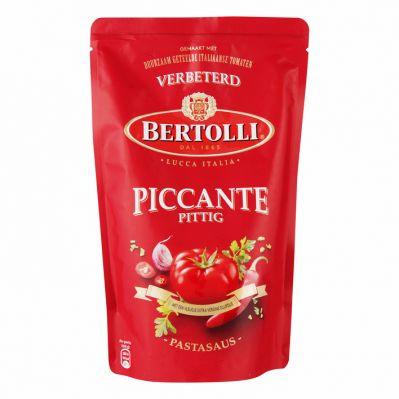 Bertolli pittige tomaten saus, 500 gr.