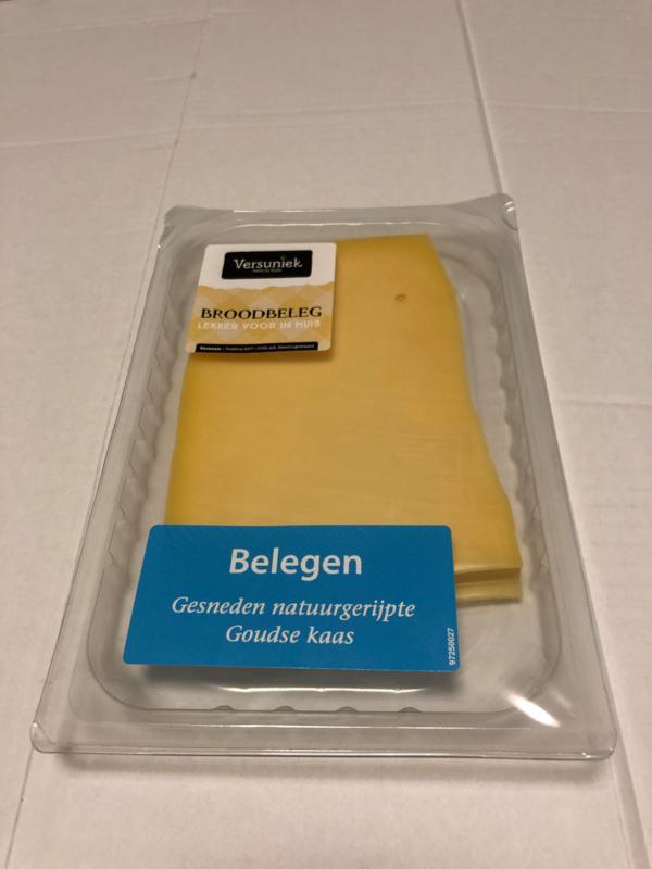 Belegen Kaas gesneden, 150 gr.