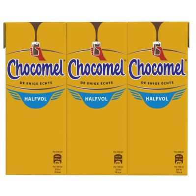 Cho­co­mel Half­vol mul­tipack, 6 x 200 ml.