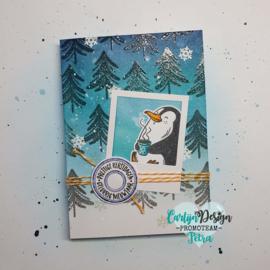 Snijmallen Kerstpost