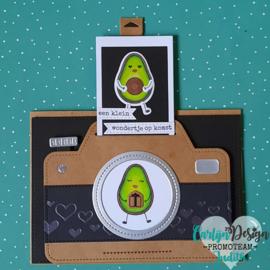 Stempels Avocado & peer