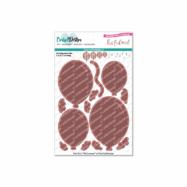 Hot foil stamps Balloons